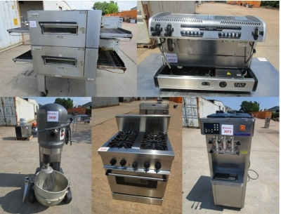 New and Used Restaurant Equipment Online Auction in Houston TUESDAY 8/25/2020