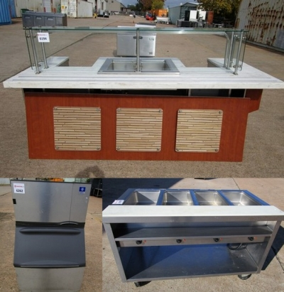 Auction: New & Used Restaurant Equipment